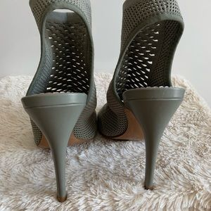 Zara Shoes - Zara Sock Booties Heels size 35